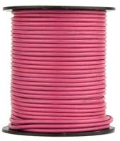 Honey Suckle Round Leather Cord 2.0mm 50 meters
