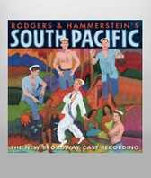 South Pacific Cast Recording CD