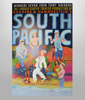 South Pacific Official Tour Poster