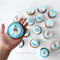 welcoming baby boy cupcakes