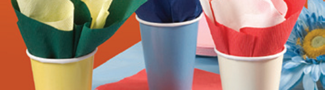 Disposable Paper Hot/Cold Cups