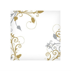 Beautiful paper napkins great for weddings and other special events. Sold in wholesale bulk and retail.