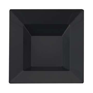Elegant square disposable plates. Perfect for a classy dinner parties or weddings. These are  sc 1 st  Partytrends : black square plates - pezcame.com