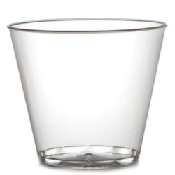 Savvi Serve 9 oz. Old Fashioned Plastic Tumblers