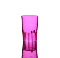 Quenchers 1.5 oz. Neon Red Plastic Shooters
