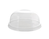 Soft disposable plastic lids perfect for parfaits, smoothies, and more! Great for at home or weddings. Will fit the 10 oz Parfait Cup. Sold in wholesale bulk and retail.
