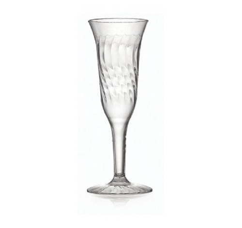 Flairware Elegant Champagne Flutes With Scalloped Design Perfect For Cly Dinner Parties Or Weddings