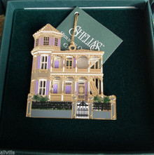 ARTIST HOUSE 1996 Shelia's 3D Historical Ornament  OR015S  KEY WEST FL SIGNED