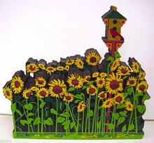 SUNFLOWER FIELD ACL21  ARTIST CHOICE SERIES RETIRED SHELIA'S MY FAVORITE PLACES