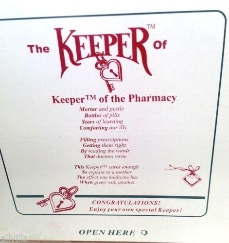 KEEPER OF PHARMACY BOX