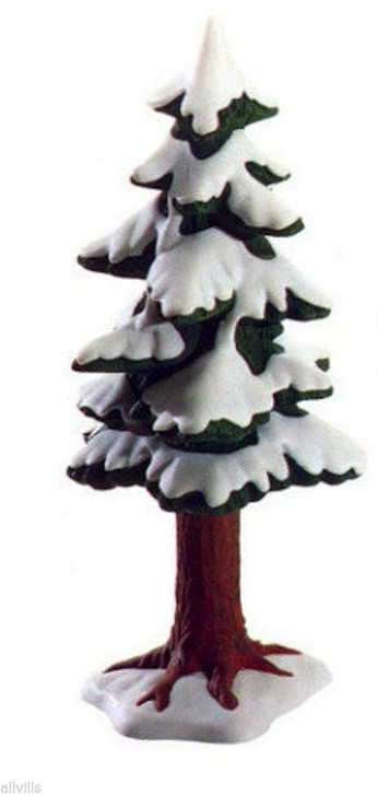 Village Small Porcelain Pine Tree