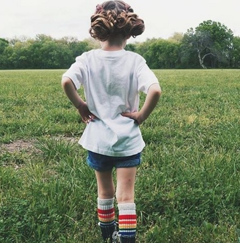 Happy- Baby/Toddler Tube Socks