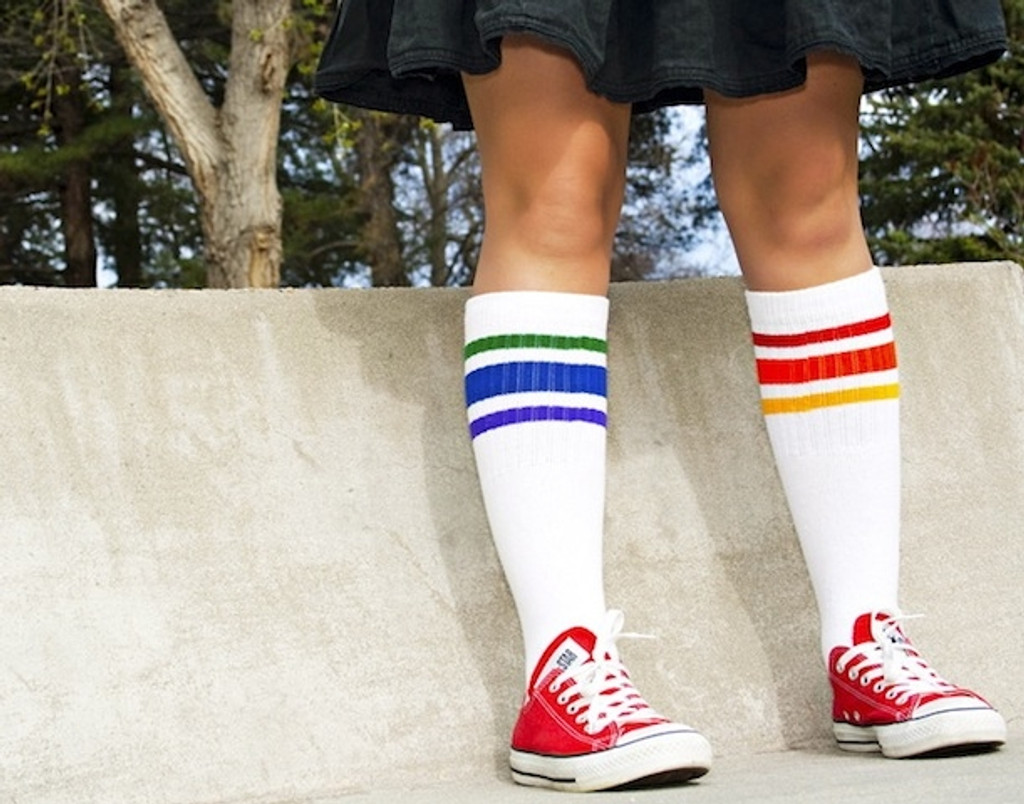 Courage- Under the Knee Tube Socks