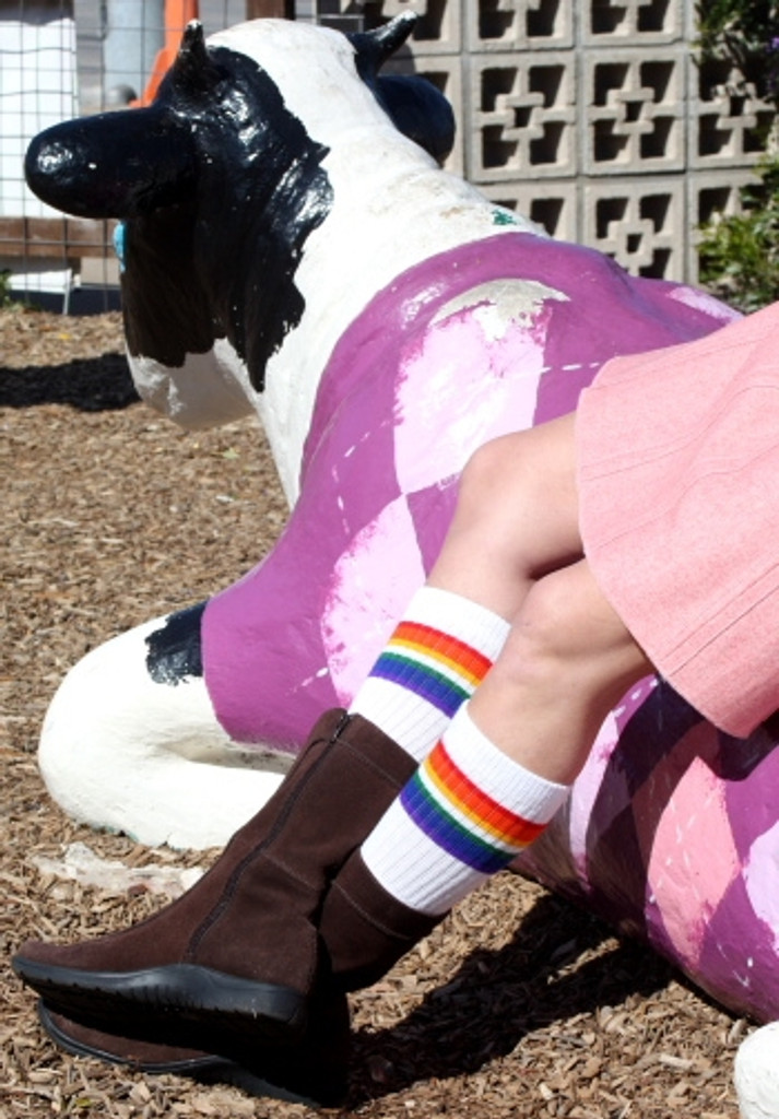 Love- Under the Knee Tube Socks