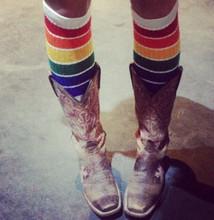 YOLO- Knee High Tube Socks