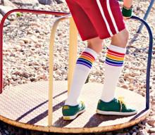 Fearless- Knee High Tube Socks