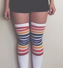 Freedom- Thigh High Tube Socks