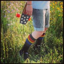 Brave- Knee High Tube Socks