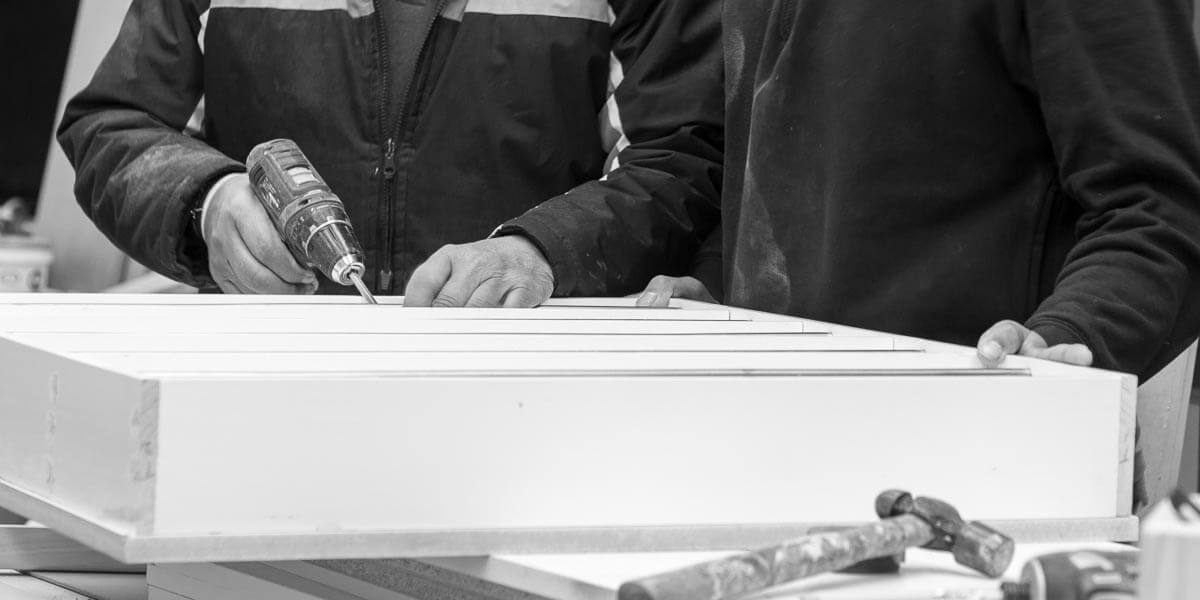 Father and Son (Allen and Ian) make up the Fabian Woodworks  team