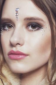Iridescent Electra, Face Gems