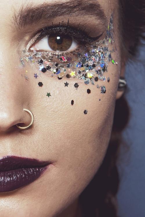 Silver Selene, Chunky Cosmetic Glitter