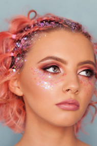 Pink Flamingo Chunky Cosmetic Glitter