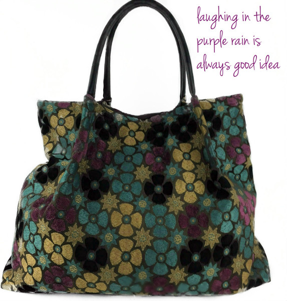 Lola Tote in Purple Rain