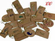 Whimsical Leather | Keychains