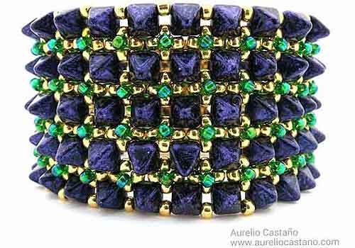 Alfred bracelet by Aurelio Castano