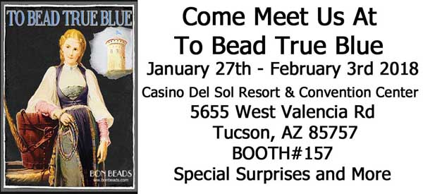 to bead true blue 2018 booth 157