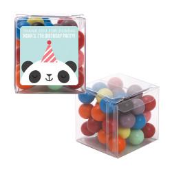 Panda Birthday Sweet Cubes