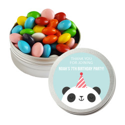Panda Birthday Twist Tins