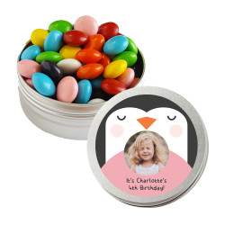 Penguin Birthday Twist Tins