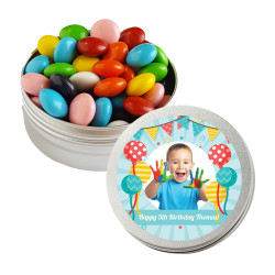 Balloons Birthday Twist Tins