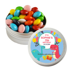 Dinosaur Birthday Twist Tins