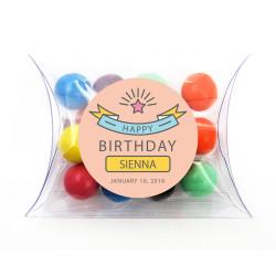 Pink Birthday Pillow Box