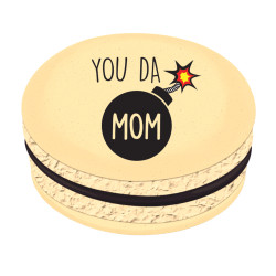 You Da Mom Printed Macarons