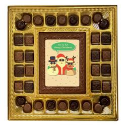 Ho! Ho! Ho! Merry Christmas Deluxe Chocolate Box
