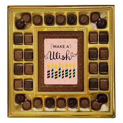 Candles Make a Wish Deluxe Chocolate Box