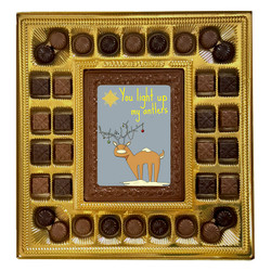 You Light Up My Antlers Deluxe  Chocolate Box
