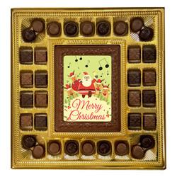 Merry Christmas Santa Deluxe  Chocolate Box