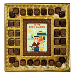 Happy House Warming Deluxe  Chocolate Box
