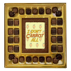 I Don't Carrot All Deluxe  Chocolate Box