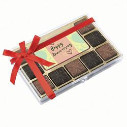 Green Happy Anniversary Chocolate Indulgence Box