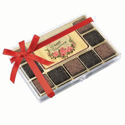 Flower Happy Anniversary Chocolate Indulgence Box