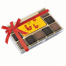 Santa Hat Ho Ho Ho Chocolate Indulgence Box