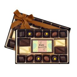 Green Happy Anniversary Signature Chocolate Box