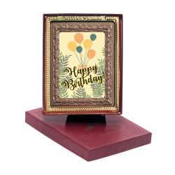 Balloon Happy Birthday Chocolate Portrait