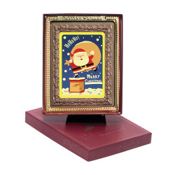 HoHoHo! Merry Christmas Chocolate Portrait