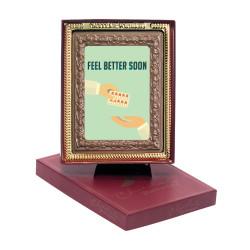 Feel Better Soon Chocolate Portrait